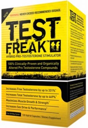 Pharma Freak Test Freak 120 capsules